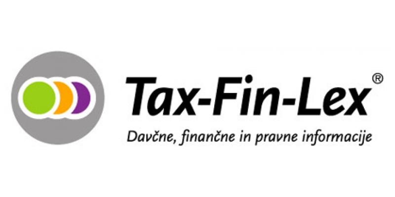 Novo: brezplačen dostop do portala Tax-Fin-Lex